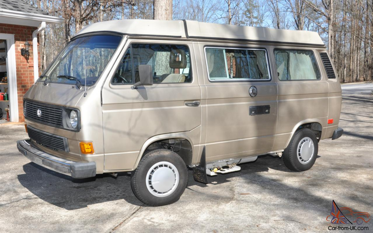 volkswagen vanagon gl westy westfalia pop  camper