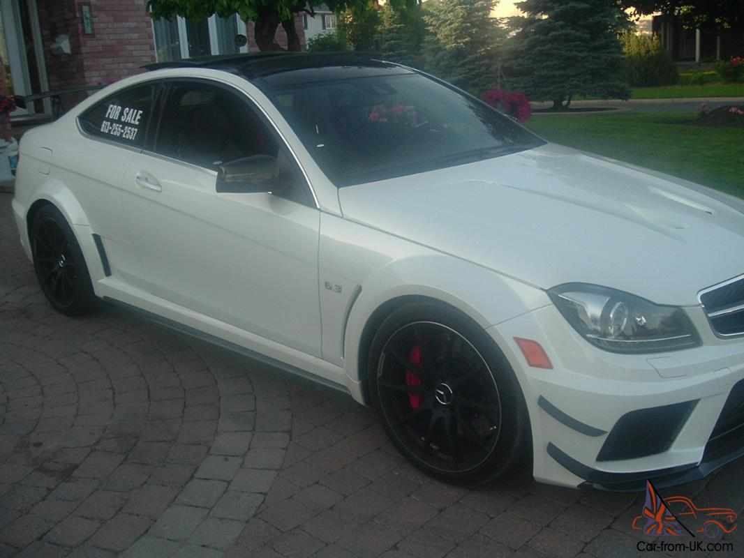 C63 Amg Black Series For Sale >> 2012 Mercedes Benz C63 Amg Black Series Coupe Combo Rare One Of A Kind