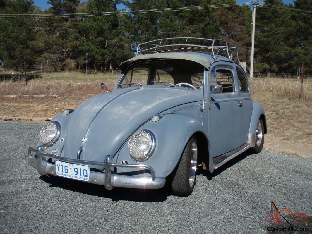 Vw Beetle 1958 Lhd Ratrod
