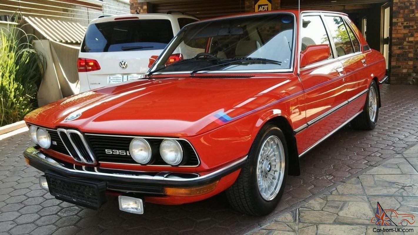 Bmw E12 M535i South African Spec