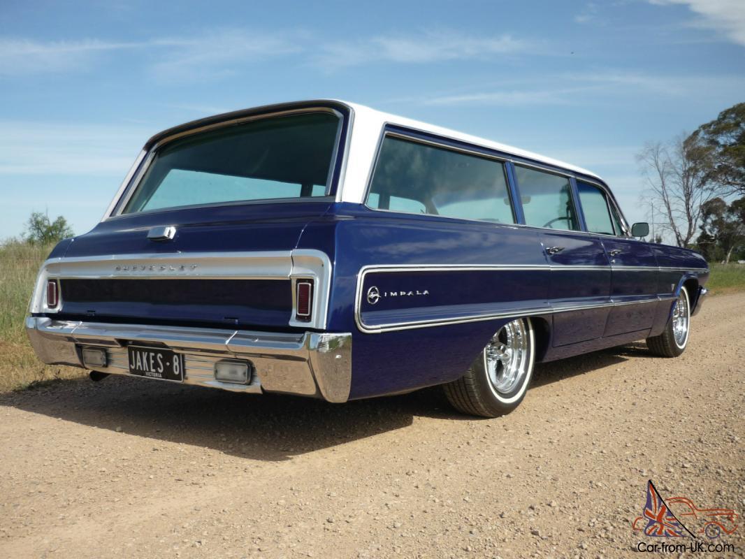 Chevrolet Impala 1964 4D Wagon 2 SP Automatic 4 4L Carb