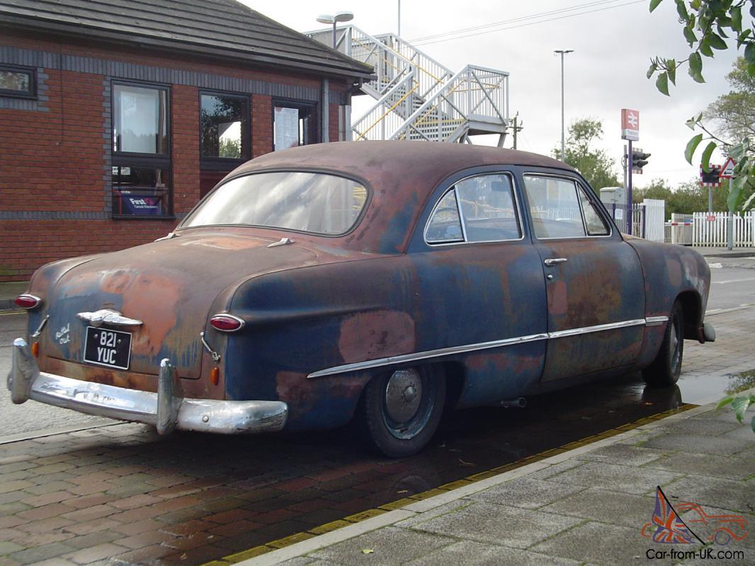 1949 FORD TUDOR SHOEBOX RATTY ORIGINAL BEAUTIFUL PATINA MOT TAXED FLATHEAD  V8