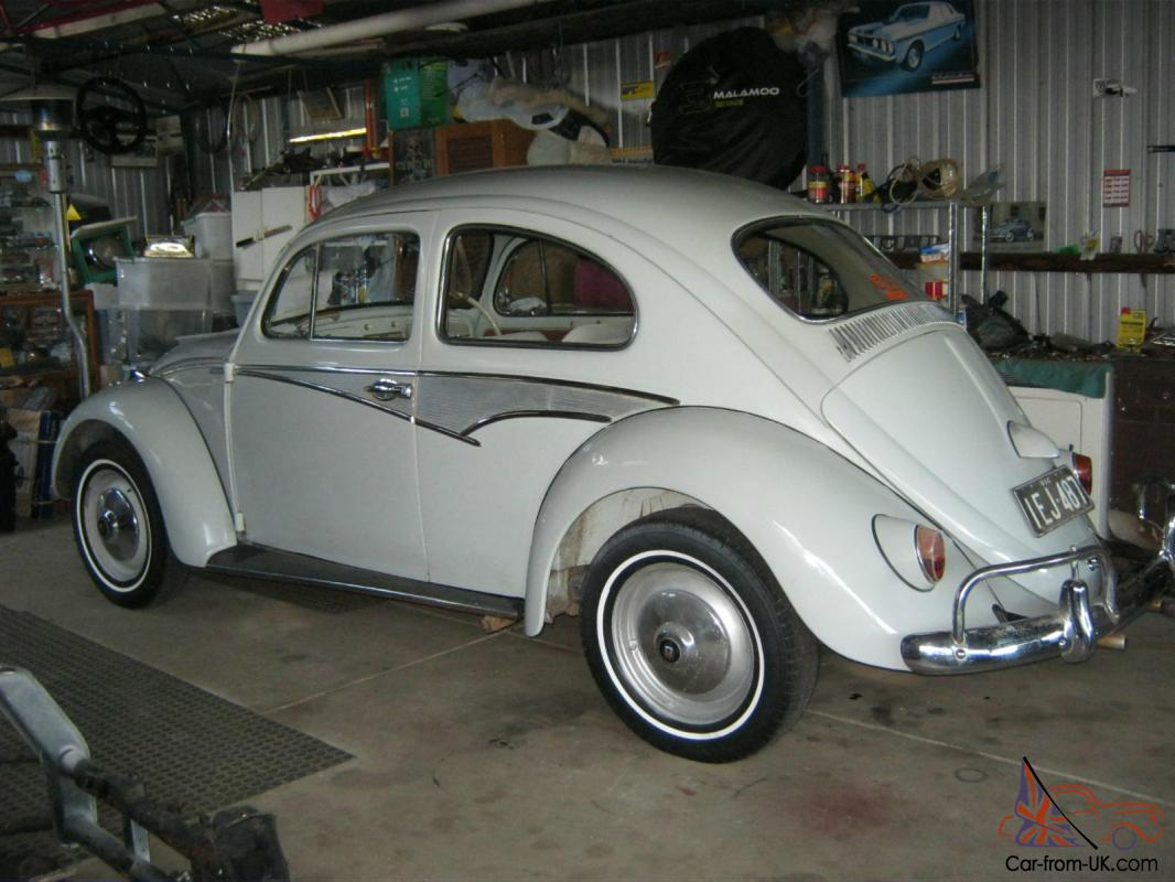 VW Beetle Accessories >> Vw Beetle 60 61 Model With 50 50 Tailights And Many Factory Accessories