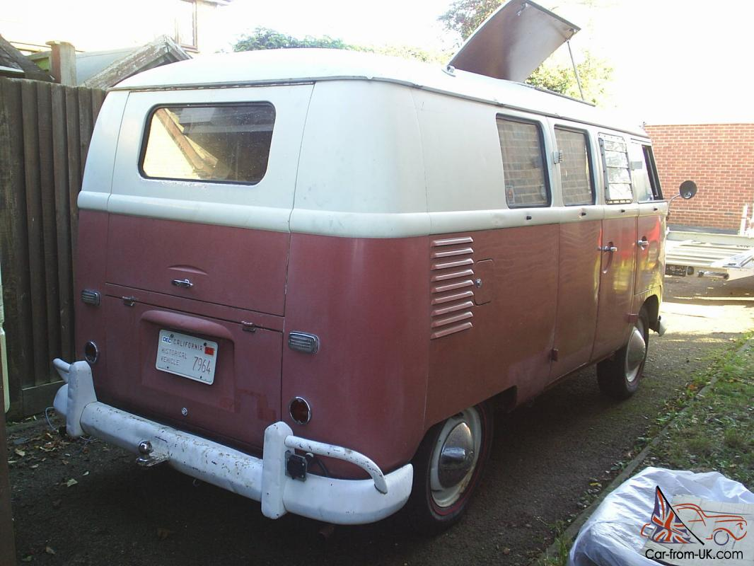 1960 SO23 Westfalia Subhatch Camper