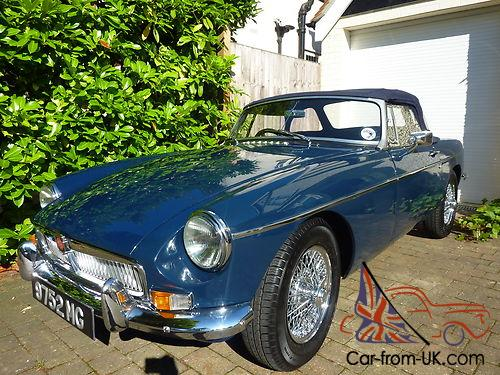MGB HERITAGE SHELL, SUPERCHARGED, Blue Royale