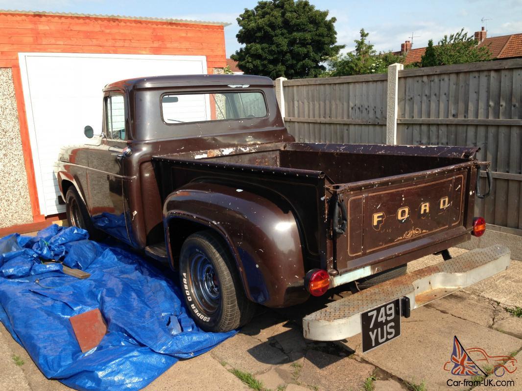 Ford F100 1957 Pick Up Truck Hillbilly Redneck Vintage