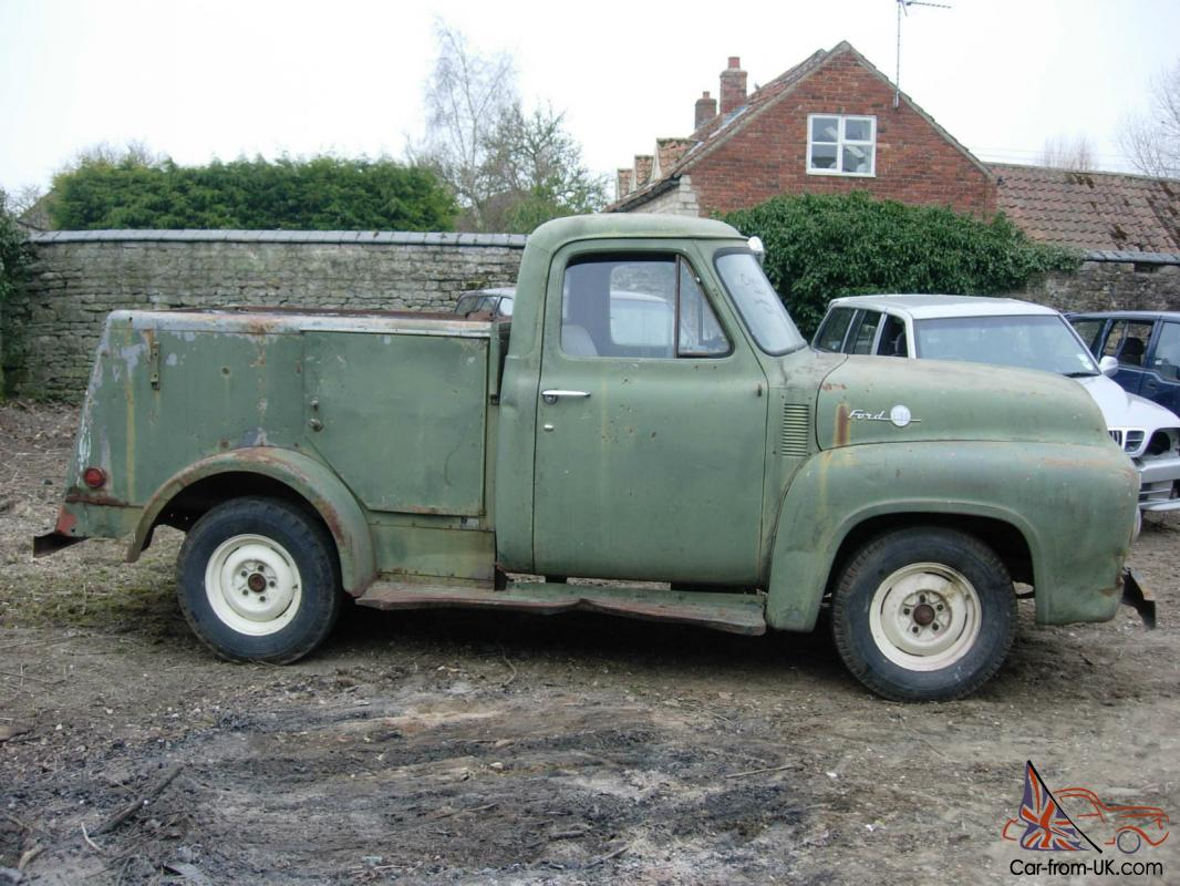 1955 Ford F100 Pick Up St Louis Stepside Pickup Service Truck Restoration Project
