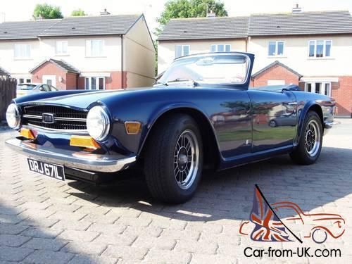 Triumph TR6 PI 150 bhp 1973 Overdrive