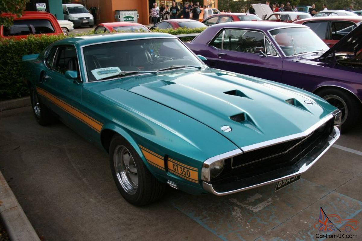 1969 ford mustang shelby gt350 american classic real not a clone