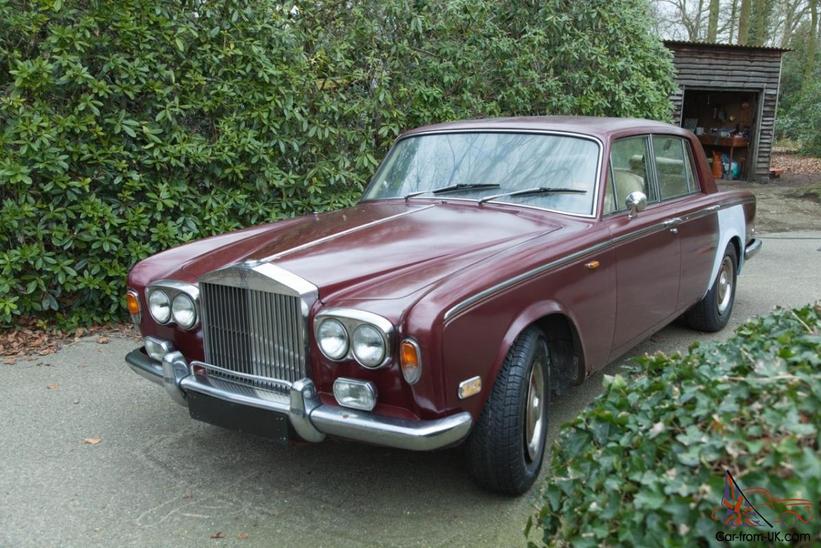 1975 Rolls Royce Silver Shadow I And Parts As A