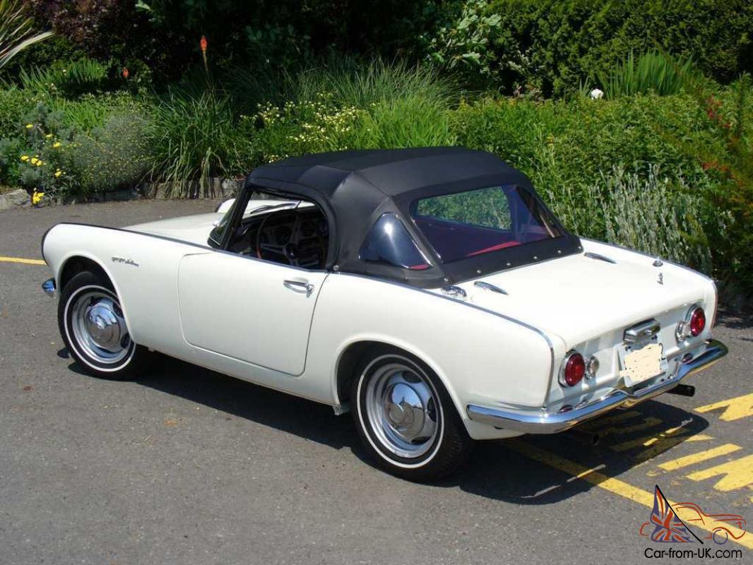 Honda S600 For Sale >> 1965 Honda S600 Convertible Nice