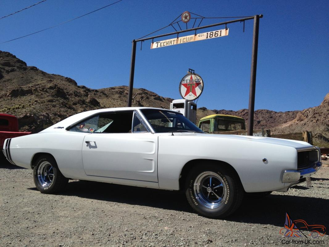 1968 Dodge Charger Rust Free Las Vegas Car 514 cu in Engine Big Block 4  Speed