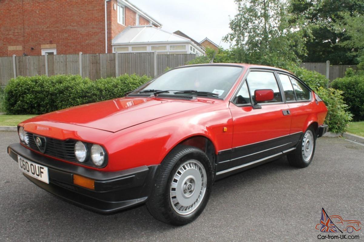 Alfa Romeo Alfetta 2 0 Gtv Coupe Classic Car Rhd Right Hand Drive