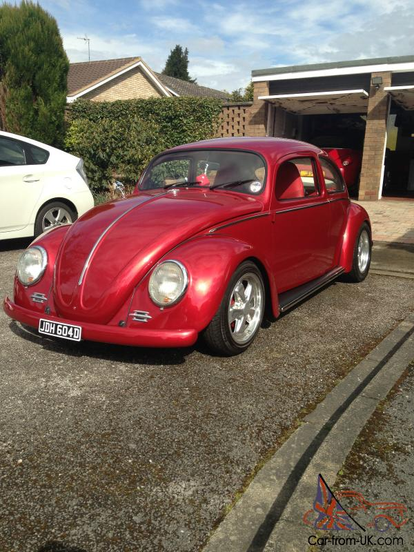 VW Beetle Custom 4 inch Roof Chop