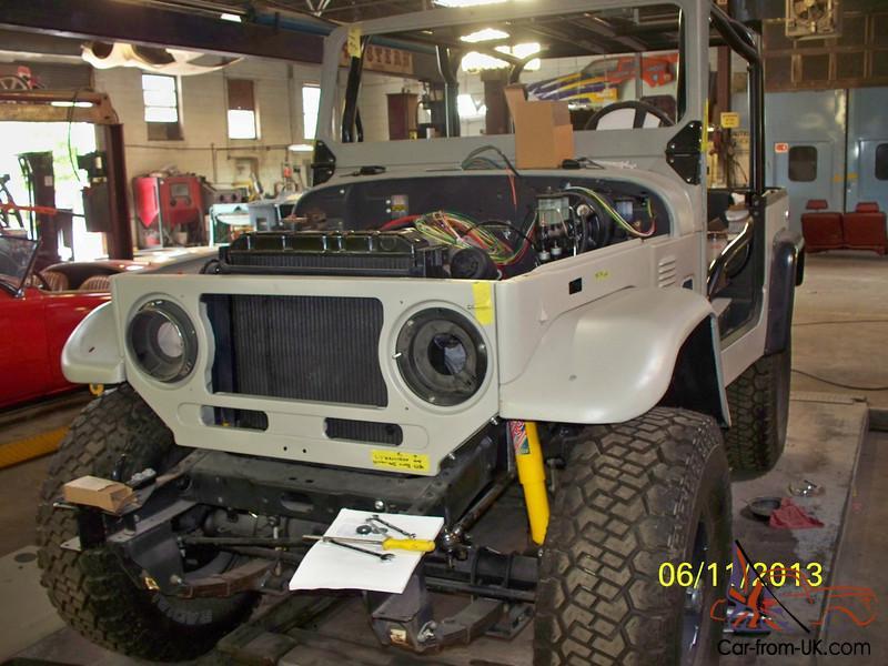 FJ40 Frame Off Restoration/Modification