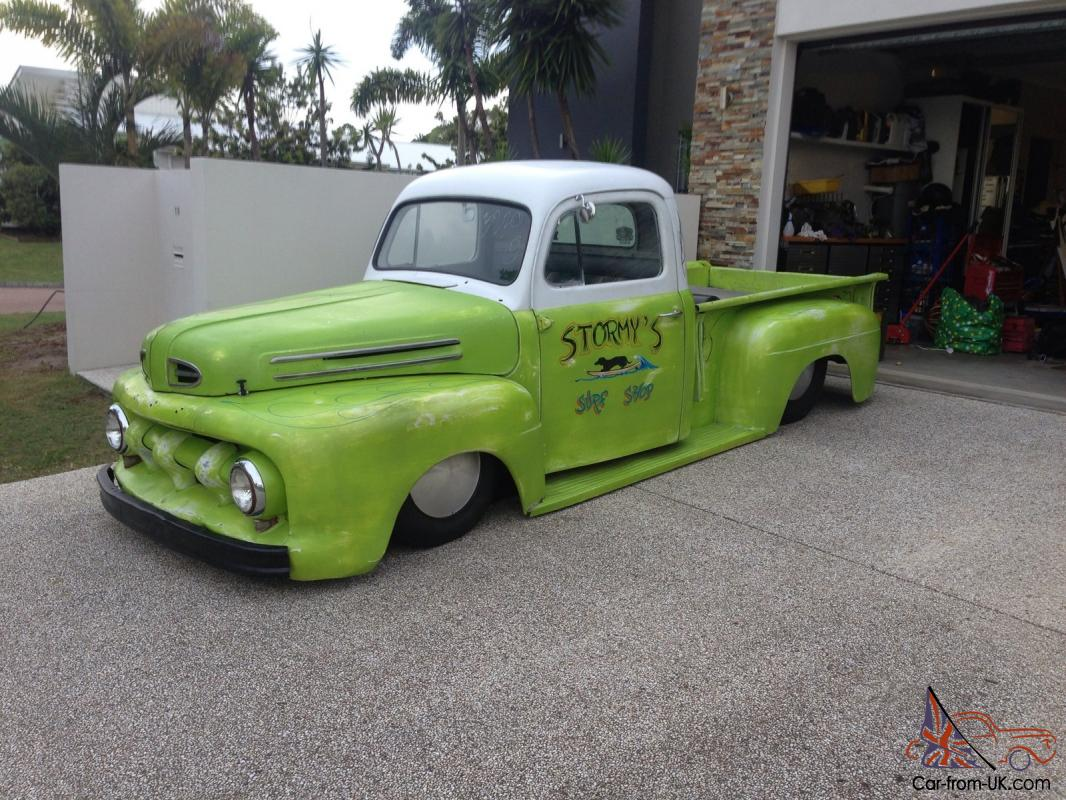 1951 Ford F100 Pick Up Hot Rod Rat 1952 Truck Pics