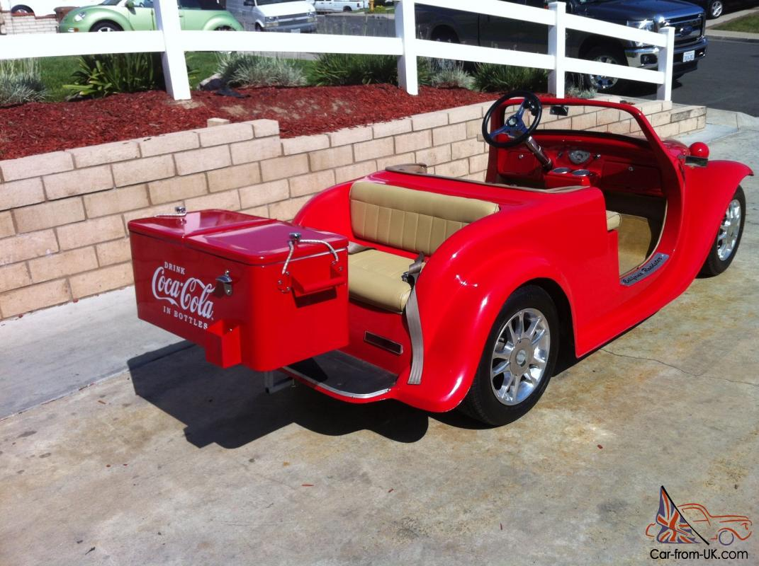 1932 Ford California Roadster Golf Cart Electric Vehicle