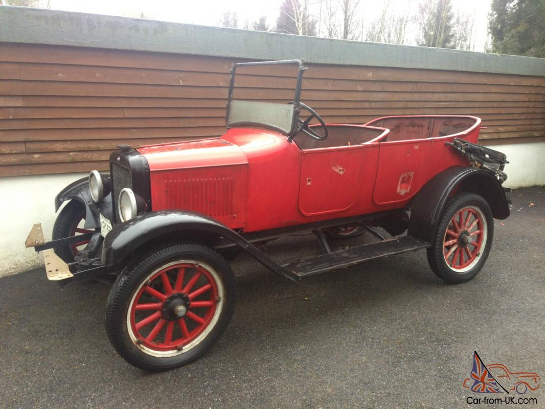 1921 Vintage Willys Overland Touring Car For Sale