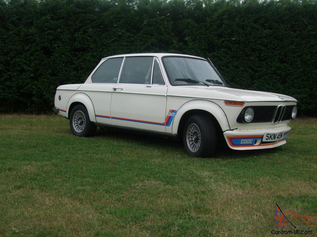 Bmw 2002 Turbo First Ever Made Damaged Salvage Repairable