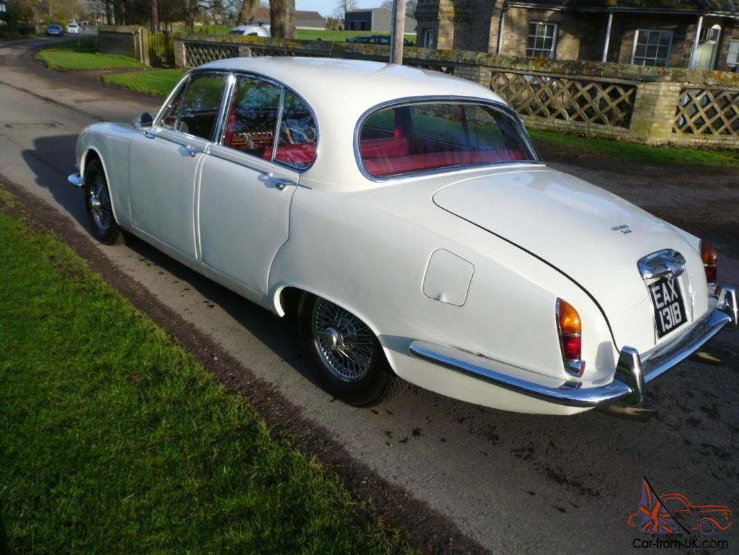 Jaguar 3.4 S Type 1964 much modified manual gearbox lovely