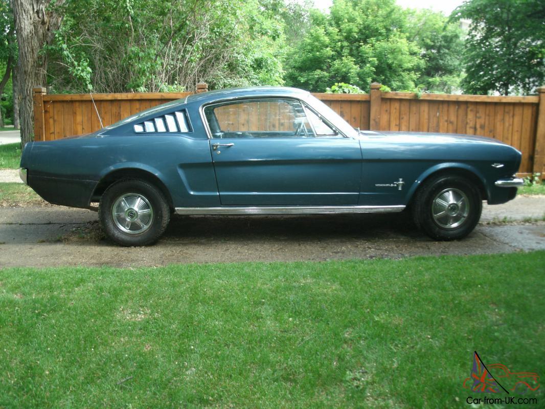 65 Mustang For Sale >> 65 Mustang Fastback V8 At Ps Pb New Interior