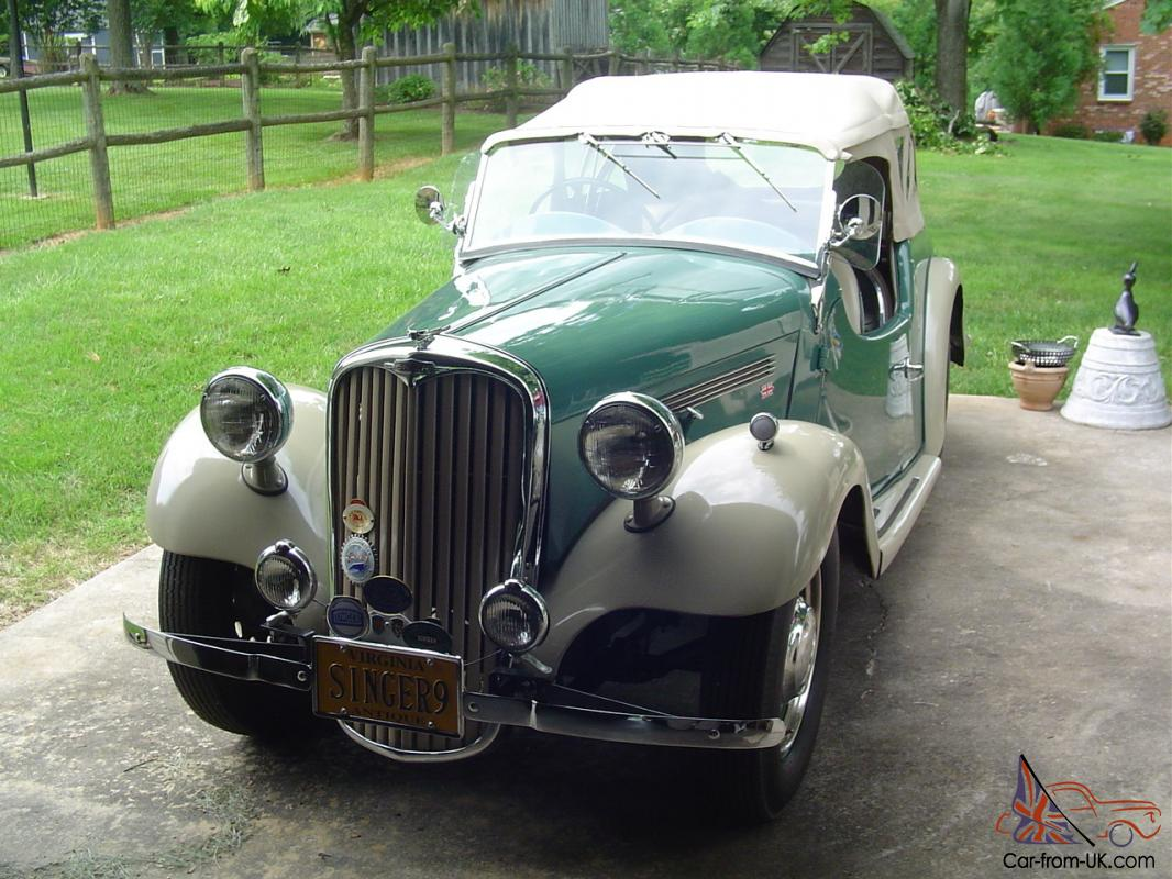 1950 SINGER 4A Roadster1950s Cars For Sale