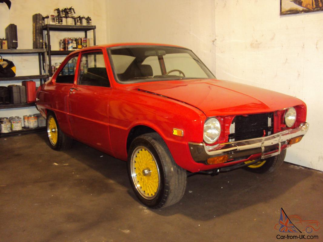 1971 Mazda R100 12A half bridge/semi PP dual downdraft Weber carbs