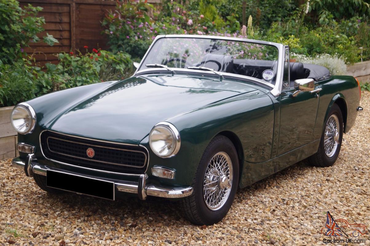 REF 50 1970 MG Midget - Classic & Sports Car Auctioneers