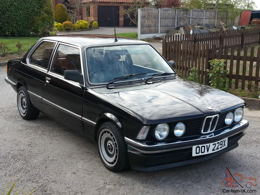 1982 Bmw 316 E21 Auto Black Power Steering Leather Seats Lpg Converted