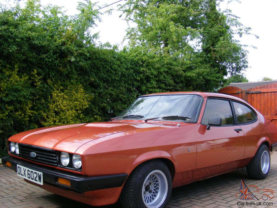 Ford Capri 3 0 Rare Stunning Looking Automatic Classic Car