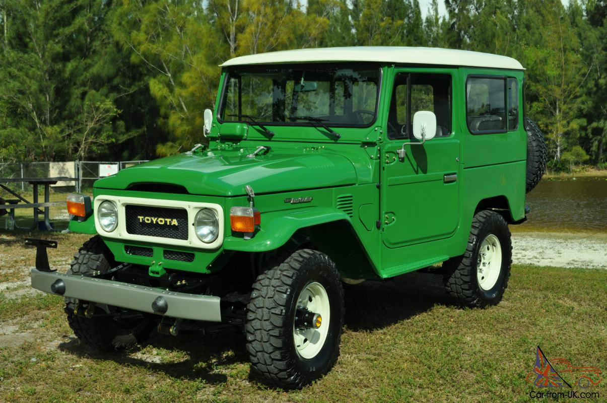 1973 Toyota Land Cruiser Fj55 Immaculate 1983 Fj 40 Collector Car