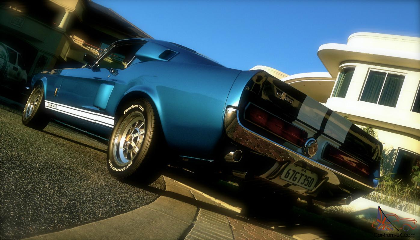1967 Shelby Mustang GT350 4 SPD Acapulco Blue Original