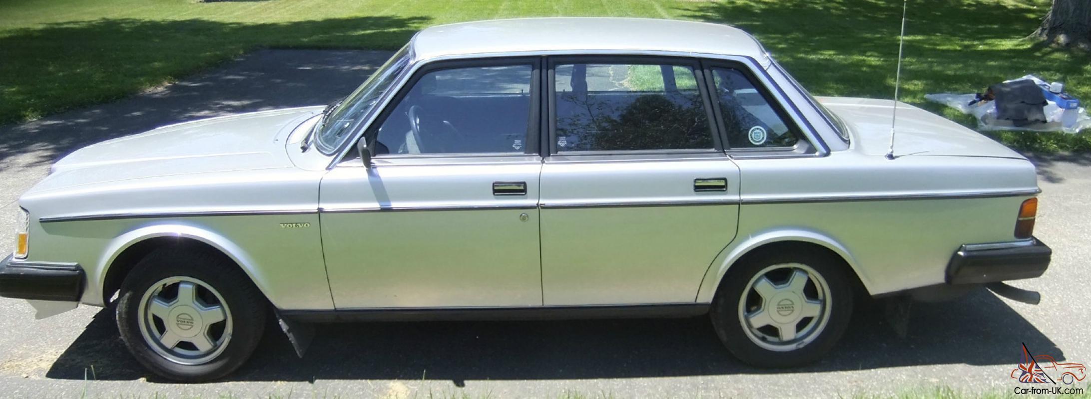 1985 Volvo 240 Dl 2 3litre 4 Door Sedan