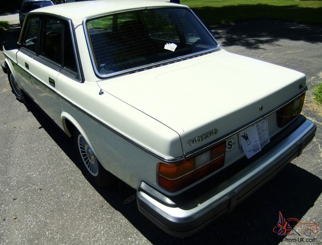 1982 Volvo Gl Sedan 4 Door 2 1 L Gas
