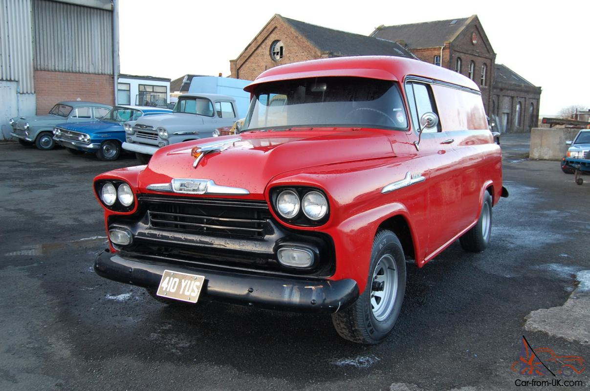 1958 Chevrolet Apache Panel Van Uk Reg Fresh California Import 1949 Chevy
