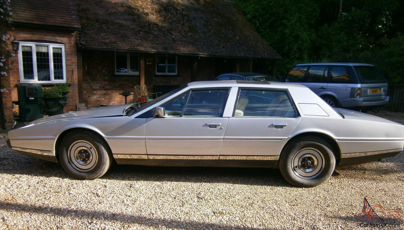 Rare Aston Martin Lagonda Barn Find