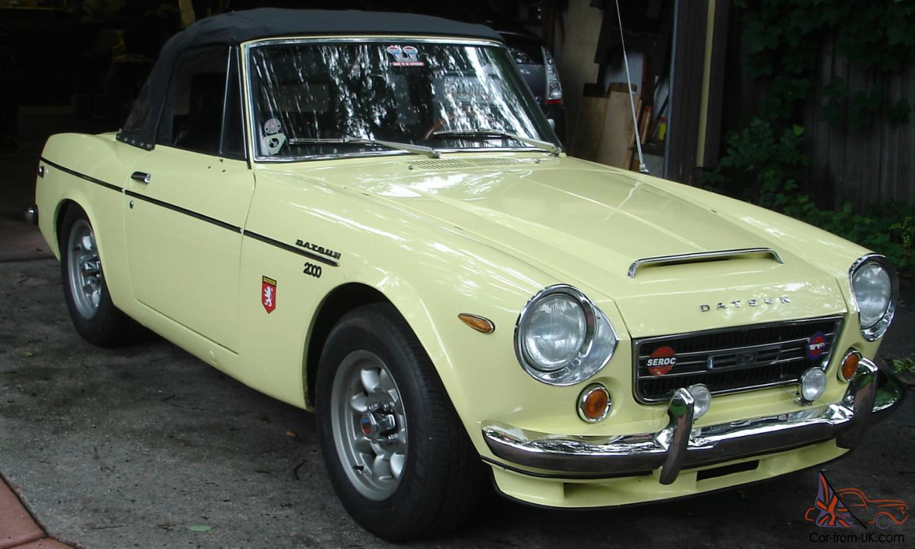1969 Datsun Roadster Sports 2000 Excellent Condition Throughout