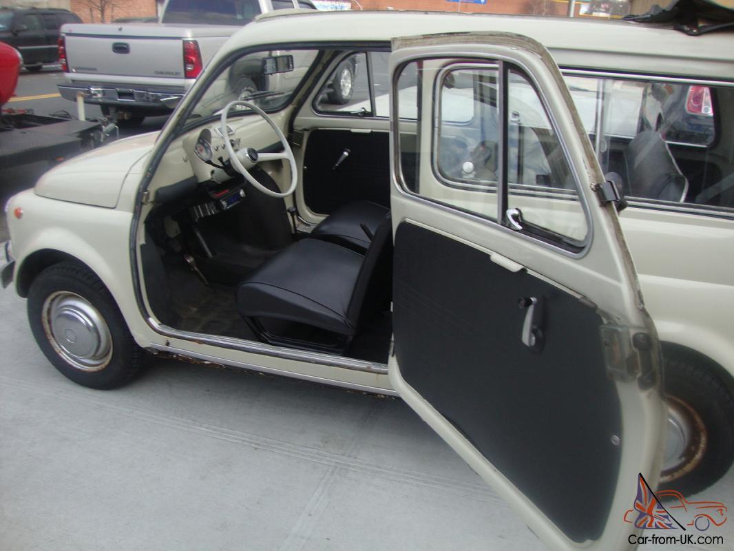 1967 Fiat 500 Familiare Runs And Drives Good Condition