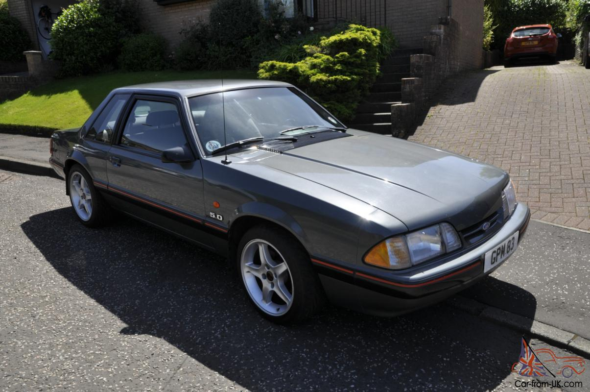 1987 ford mustang lx 5 0 coupe auto