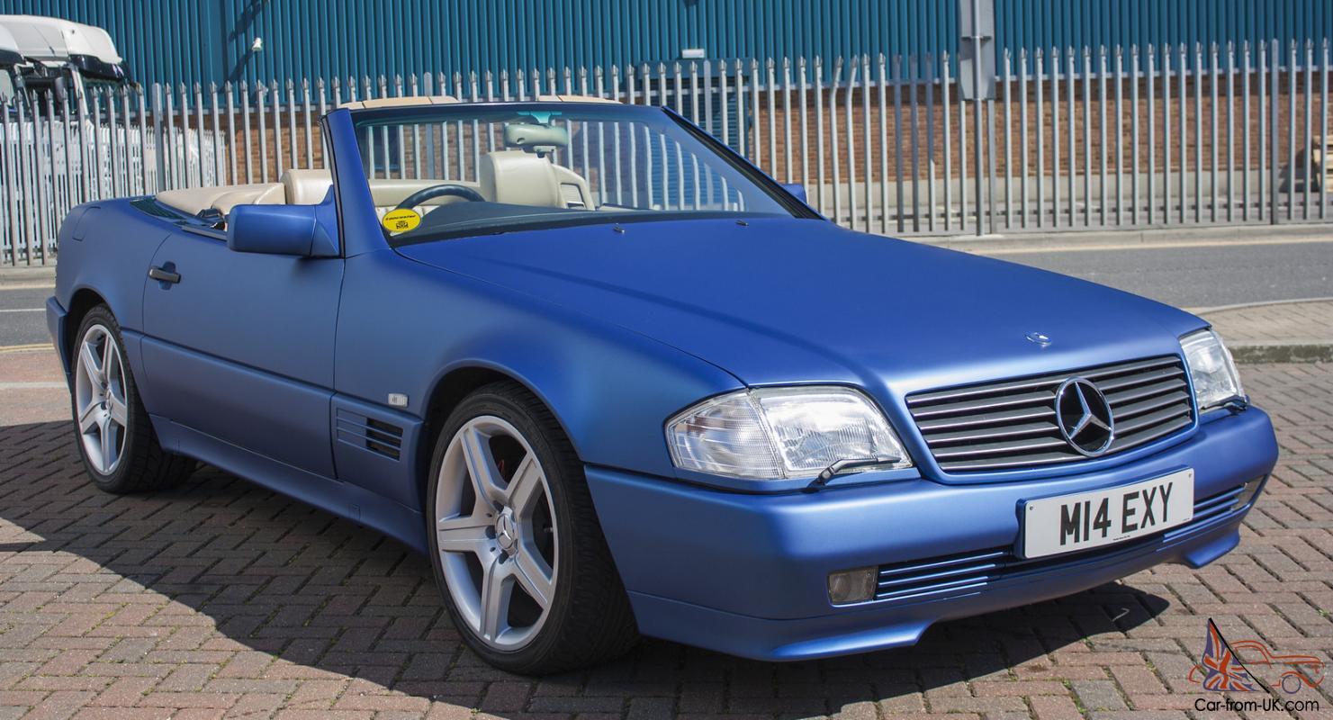 1995 MERCEDES SL500 AUTO BLUE R129, HARDTOP, EXCELLENT ...