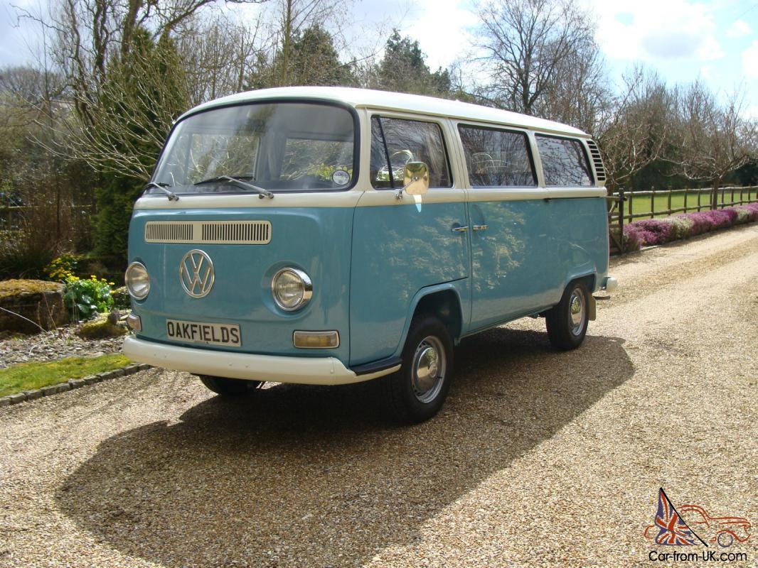 VW CAMPER T2 DEVONETTE BAY WINDOW 1972 TYPE 2 RHD VOLKSWAGEN DEVON VAN BUS