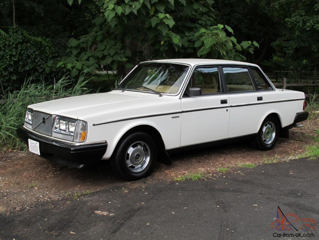 1985 Volvo 240 Dl 74 478 Original Miles