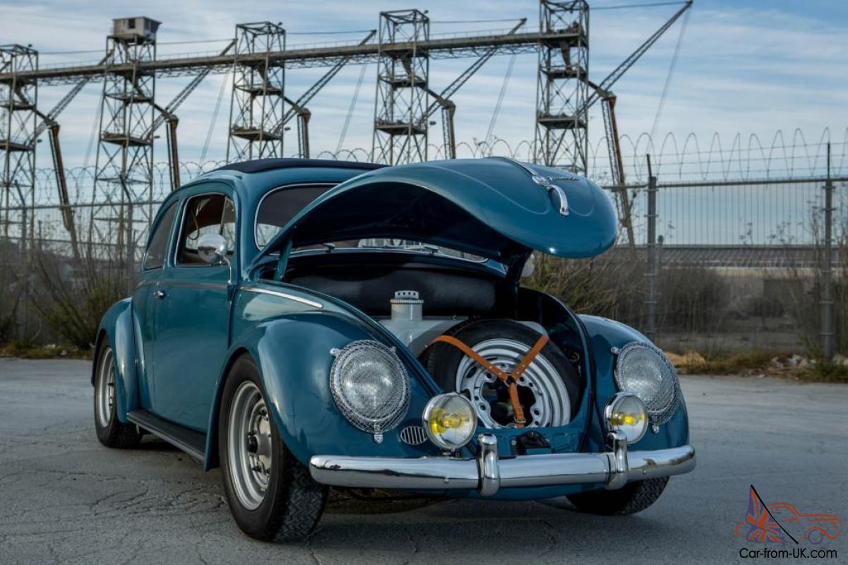 vw vokswagen porsche  oval ragtop beetle