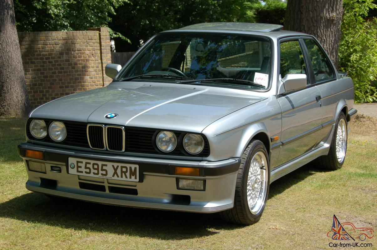 Stunning 1987 Bmw E30 325i Sport M Technic 1 Very Low Mileage With No Mods