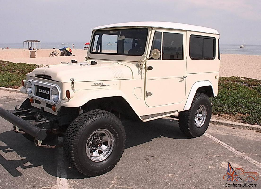 Toyota Fj40 For Sale >> 1968 Toyota Fj40 Land Cruiser California Survivor