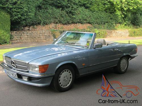 1986 Mercedes-Benz 300 SL R-107 Model Classic Soft-Top/HardTop Convertible   PX