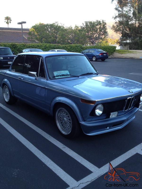 Bmw 2002 Tii For Sale >> 1975 BMW 2002 Coupe