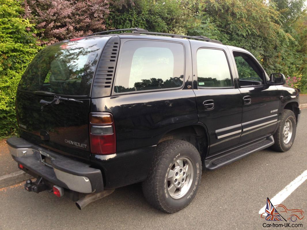 2001 Chevrolet Tahoe V8 5 3 Small Block Black 7 Seats