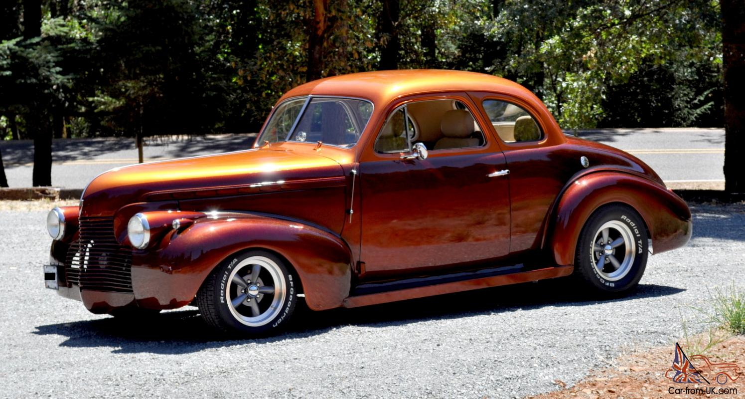1940 CHEVY SPECIAL DELUXE COUPE STREETROD 350 4BBL TH350 AUTO KANDY PAINT  NICE!!