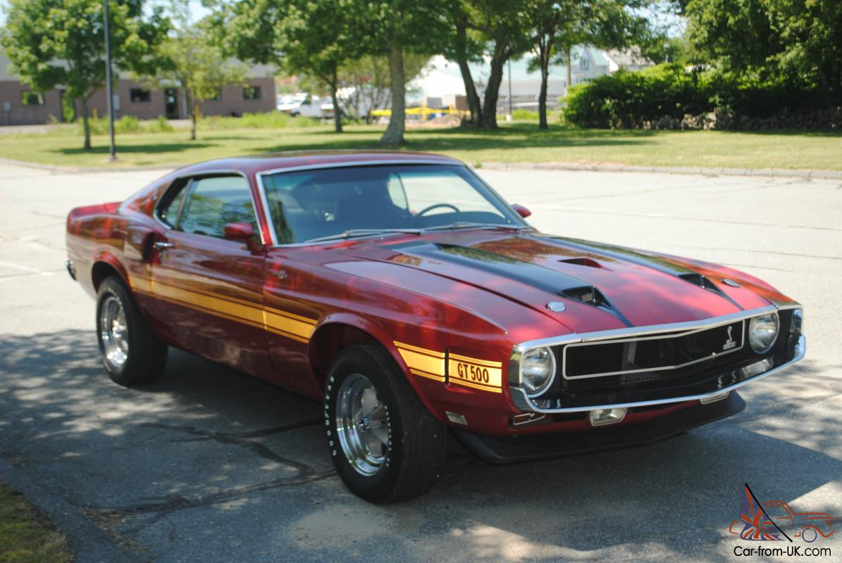 1969 Shelby Mustang >> 1969 Shelby Gt 500 Shelby Mustang Cobra Jet
